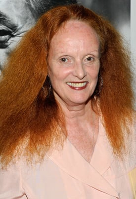 Grace Coddington Working on Memoirs