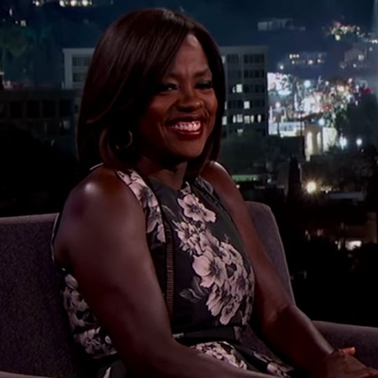 Viola Davis Talks Oprah Winfrey on Jimmy Kimmel March 2016