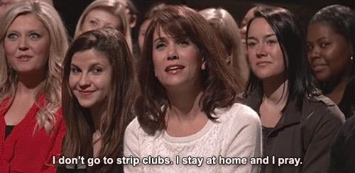 Strip clubs are gross.