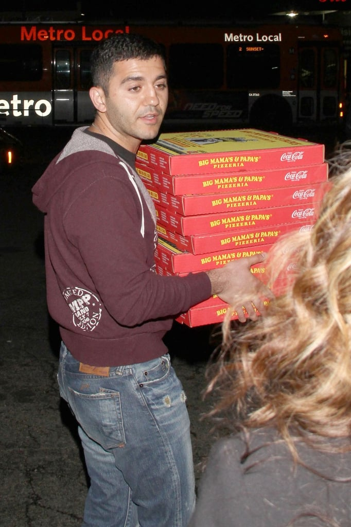Meet Edgar, the Oscars Pizza Delivery Man