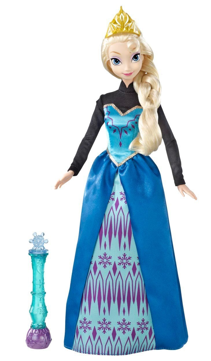 Make Your Own Magic With Disney's Frozen Color Magic Fashion Doll