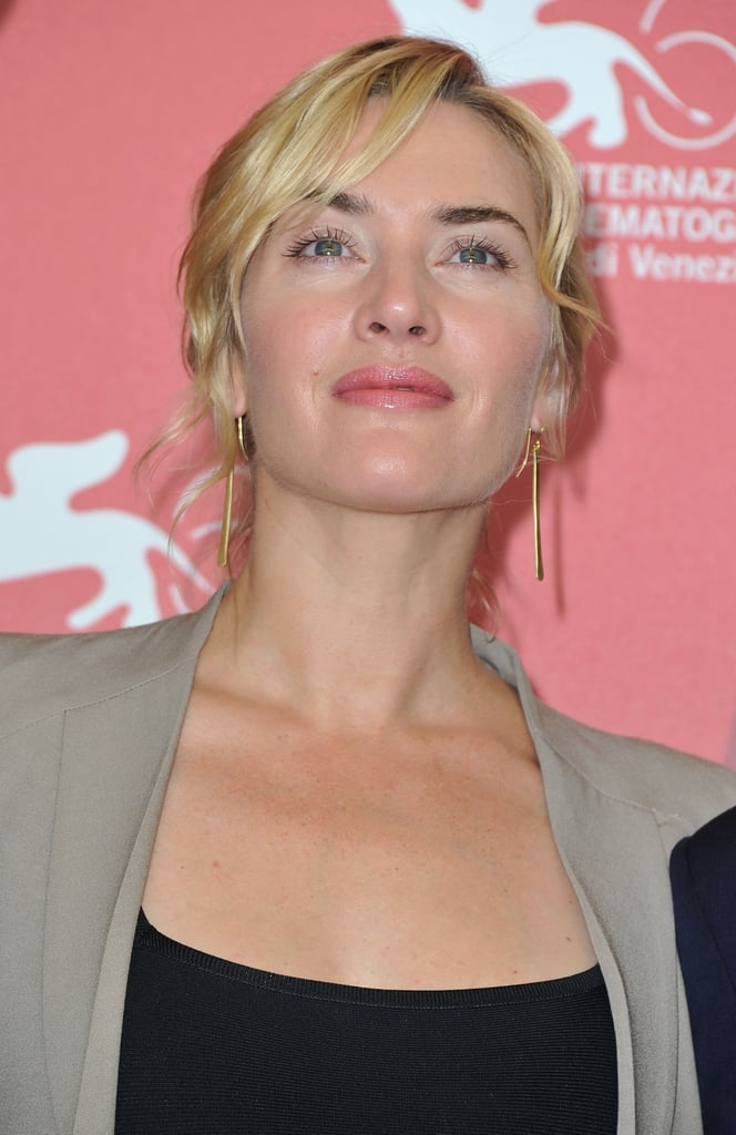 Kate Winslet at a photocall for Carnage.