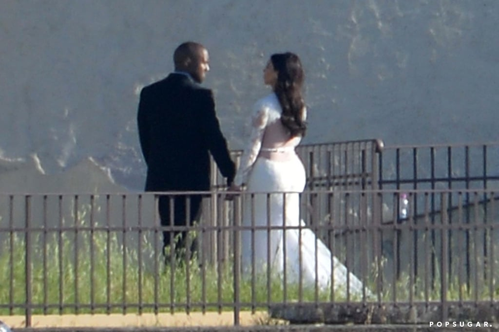 Cheers to 2 Years! Look Back on Kim Kardashian and Kanye West's Lavish Italian Wedding Photos
