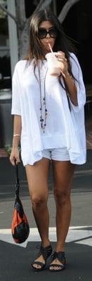 Celeb Style: Kourtney Kardashian