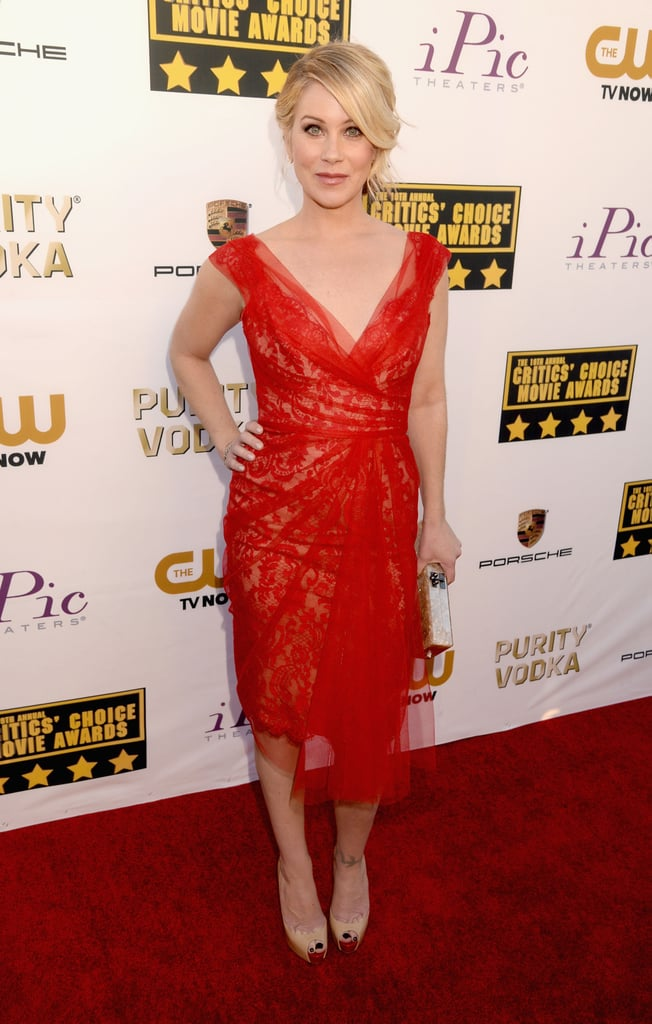 Christina Applegate at the Critics' Choice Awards 2014