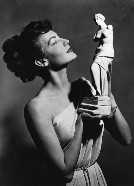Ava Gardner's Rolled Up 'Do
