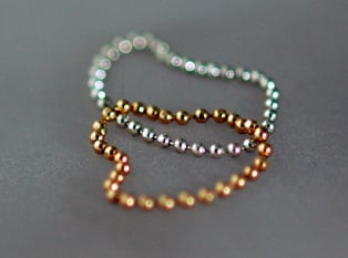Fabworthy: Bare Jewelry Stackable Twinkle Chain Rings