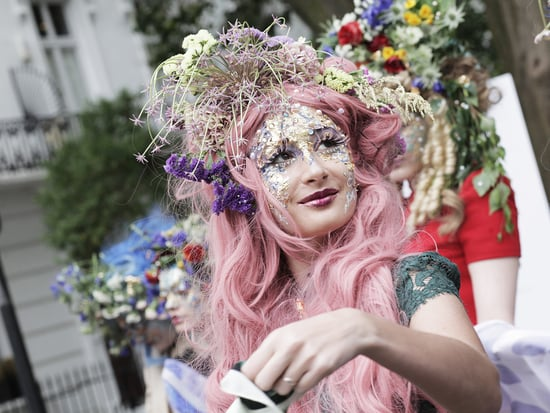 See Royal Designer Catherine Walker's Eye-Popping Runway on the Streets of London