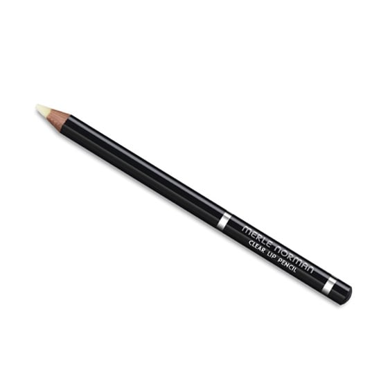 We raise our eyebrows at anything that claims to be a savior for our lips, but Merle Norman's Clear Lip Pencil ($14) actually delivers. Packed with aloe vera, vitamins, and emollients, it creates the perfect base for any and every lipstick you might have in your arsenal. Sure, it won't make your hue stay all day, but it helps your color magically wear off without leaving you with that ugly ring around your mouth. That's just smart.  — MD