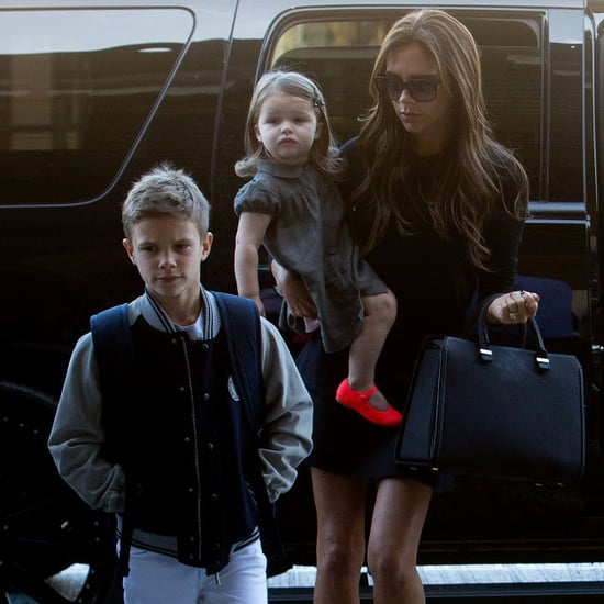 Victoria Beckham With Her Kids at LAX