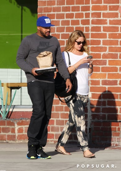 CaCee Cobb and Donald Faison stepped out the day after their wedding.