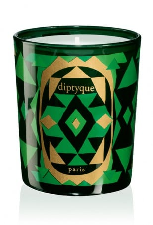 """Every year I give (and hope to get) lots of candles, and you can't beat the beauty of French brand Diptyque. This year, their special Sapin Doré candle ($68) conjures up the scent of """"golden spruce trees."""" Better yet, it comes in this beautiful emerald and gold glass. — Noria Morales, style director"""