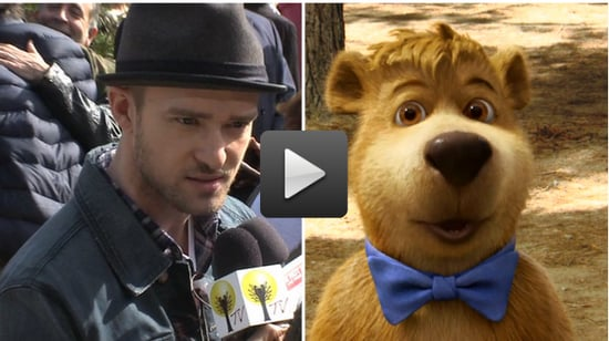 Video of Justin Timberlake Talking About Drinking Wine in Napa at the Yogi Bear Premiere