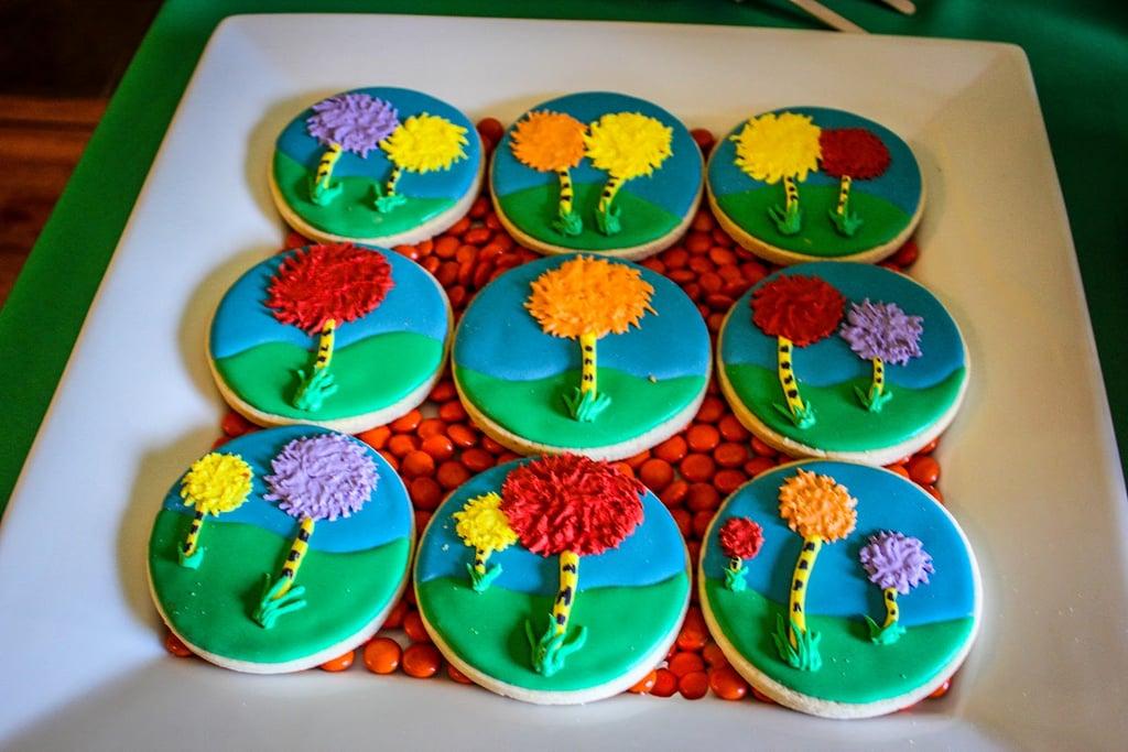 Truffula Tree Cookies