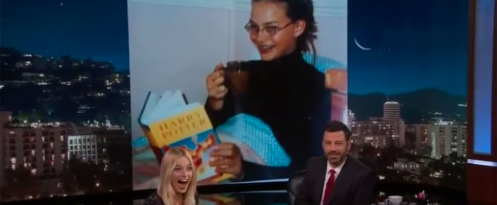 The Harry Potter Connection Behind Margot Robbie's Most Embarrassing Photo Is So Good