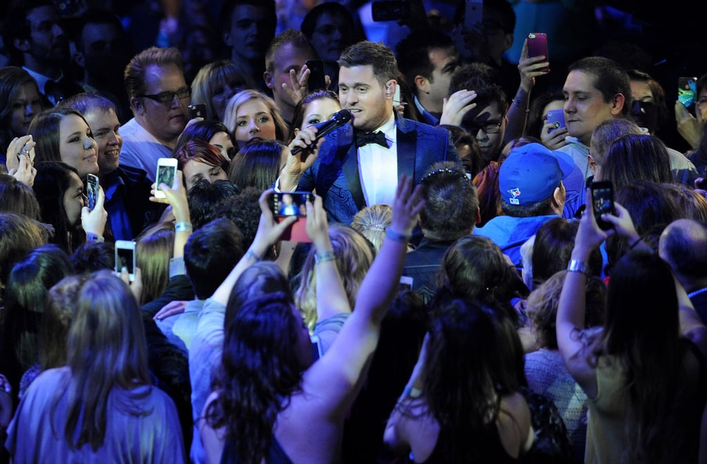 Michael Bublé hosted the Juno Awards in Canada.