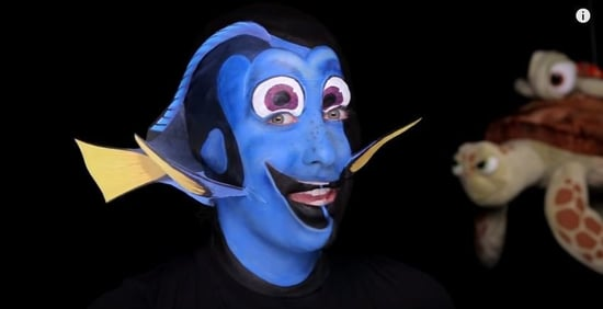 Makeup Artist Morphs Into Pixar's Dory and the Process Is Everything (VIDEO)
