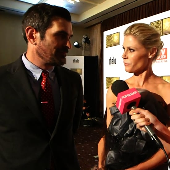 Julie Bowen Ty Burrell Critics Choice Win (Video)