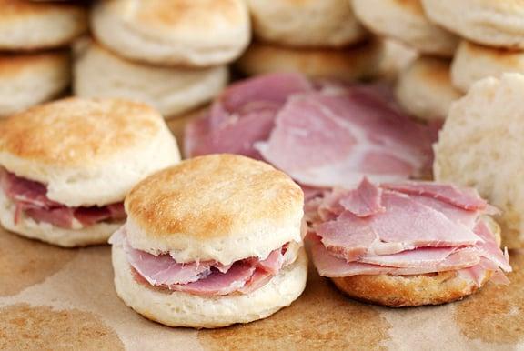 Virginia: Ham Biscuits