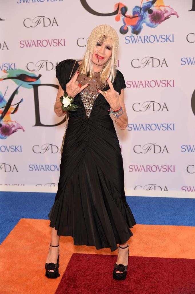 Betsey Johnson at the 2014 CFDA Awards