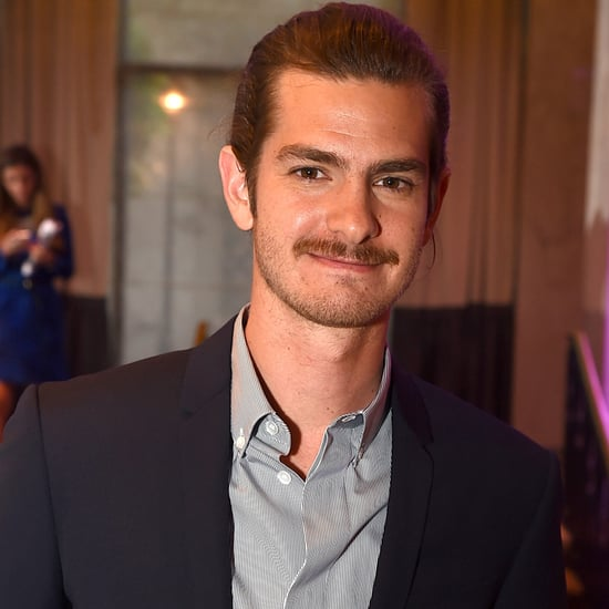Andrew Garfield Is Rocking a New Mustache