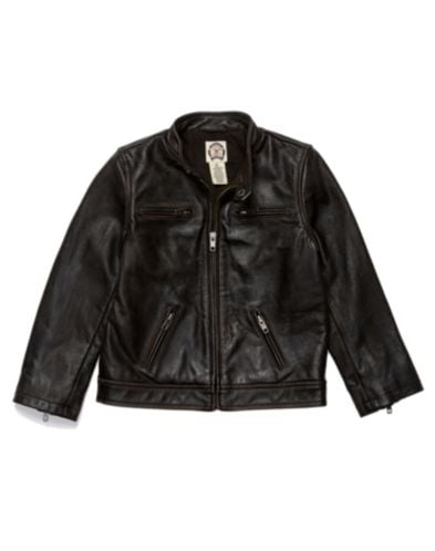 Lucky Brand Steeze Leather Jacket