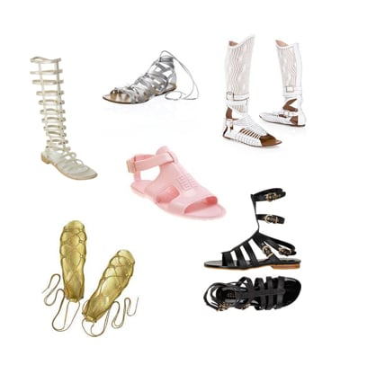 Finding The Perfect Pair of Spring Gladiator Sandals With Teen Fashionista, Givenchy and Gaultier