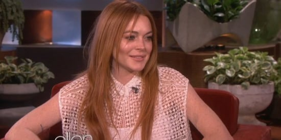 Lindsay Lohan Casually Addresses Her Alleged Sex List