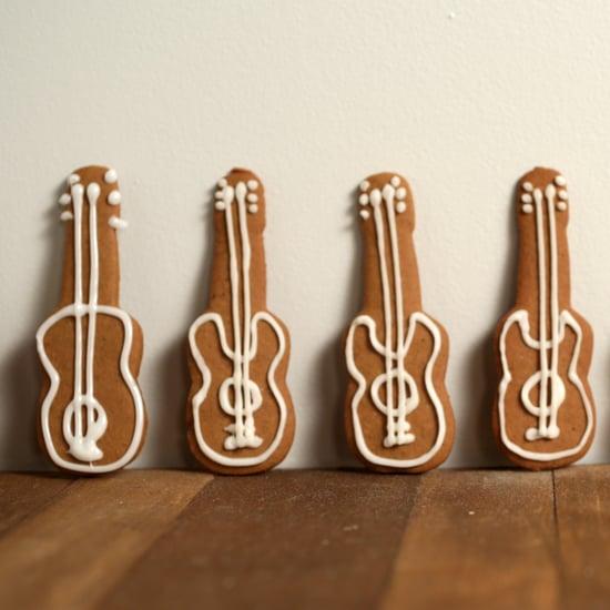 Gingerbread Guitar Cookies Recipe