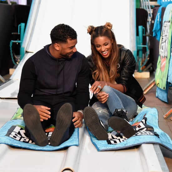 Ciara and Russell Wilson at Kids' Choice Sports Awards 2016