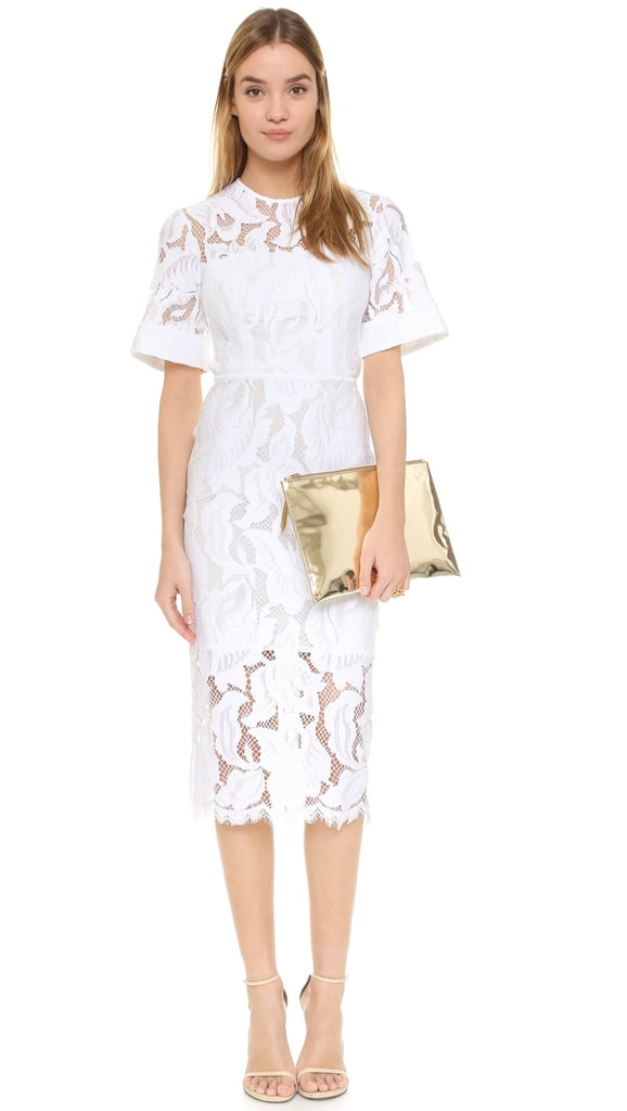 Lover Arizona Lace Fitted Dress ($850)