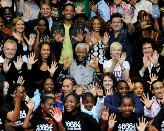Leona Lewis, Will Smith, Annie Lennox and Sugababes at Photo Shoot Ahead of Nelson Mandela Concert