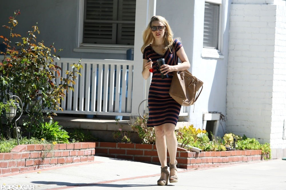Rachel McAdams wore sunglasses in LA.