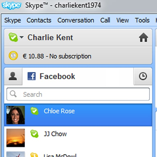 Skype and Facebook Chat