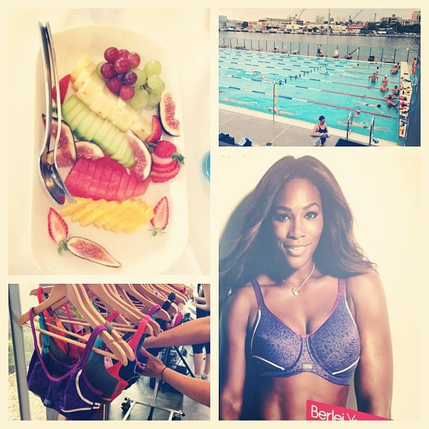 Fruit, bras and Serena Williams equalled one very cool Berlei Bounce launch.