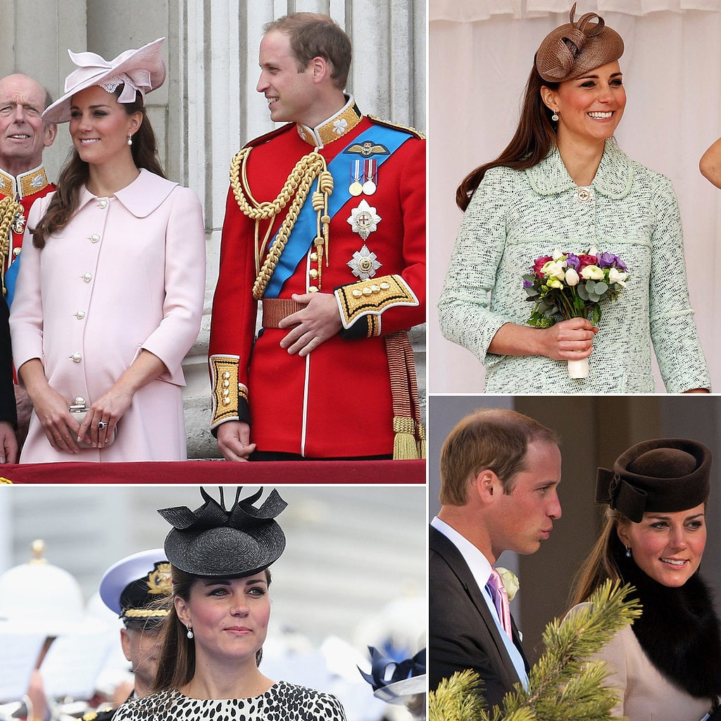 See All of Kate Middleton's Pregnant Appearances!