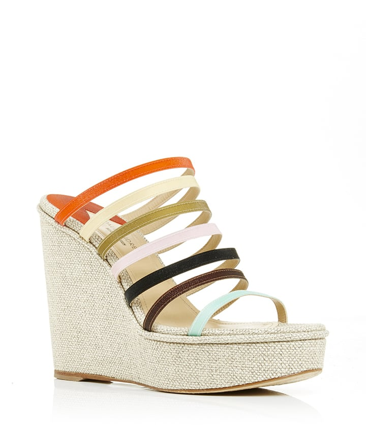 Rosie Assoulin x Paul Andrew Lily Strap Wedge Platforms ($895)