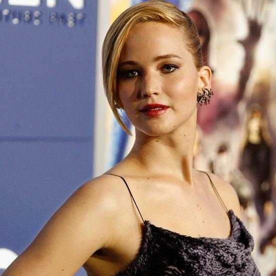 Jennifer Lawrence in Jason Wu on the X-Men Red Carpet