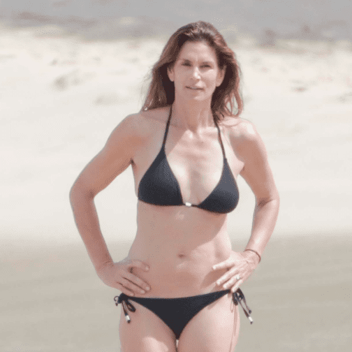 Cindy Crawford Bikini Pictures February 2016