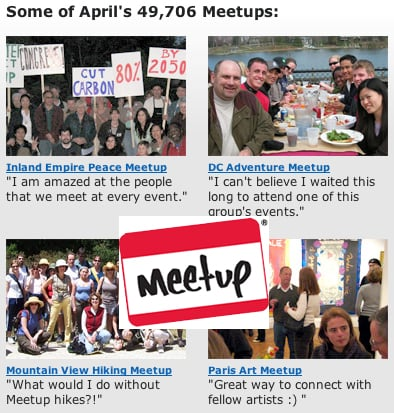 Website of the Day: Meetup