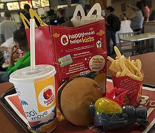 Fast Food Restaurants Target Toddlers