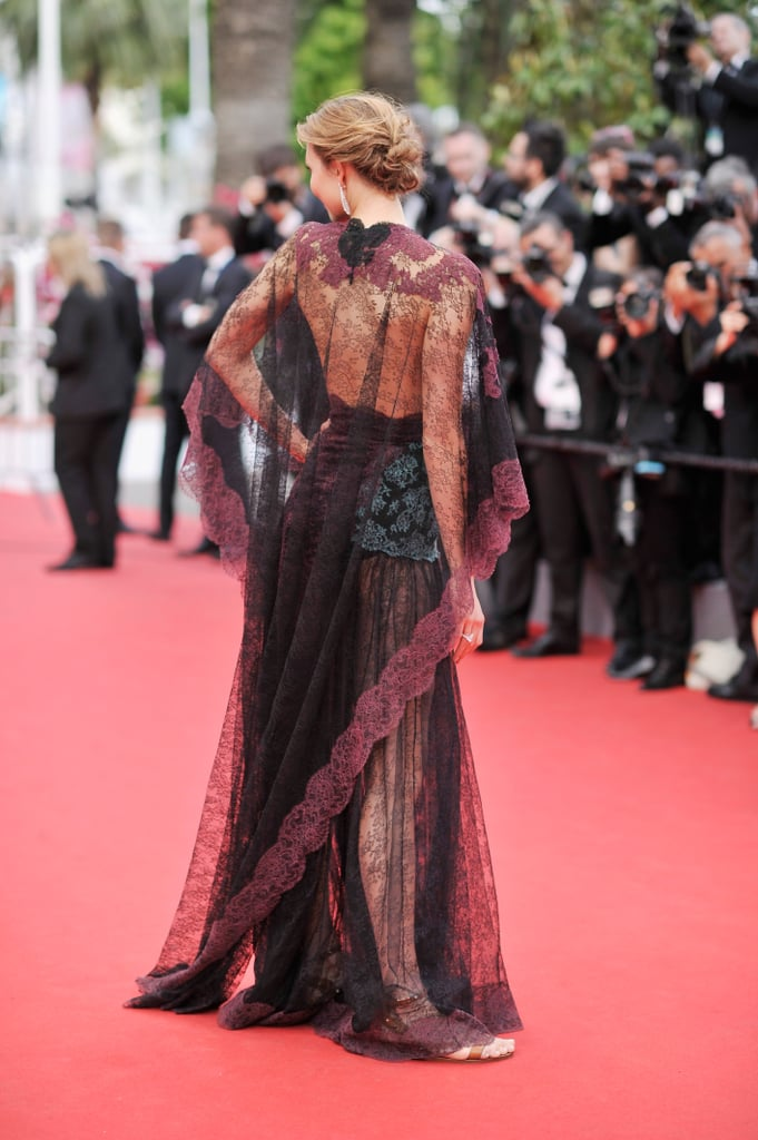 Karlie Kloss rocked a lace dress for the Cannes opening ceremony.