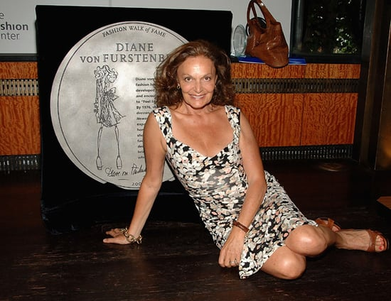 Diane Von Furstenberg and Liz Claiborne Added to Fashion Walk of Fame