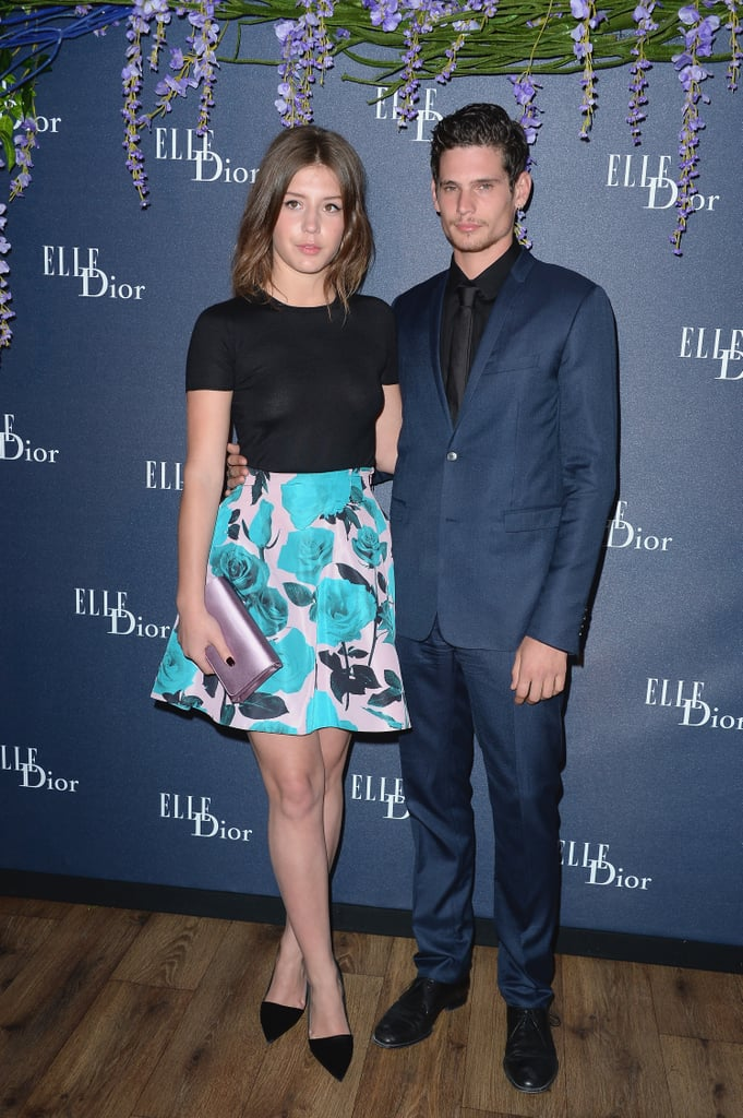 Adèle Exarchopoulos and Jérémie Laheurte at the Dior Dinner