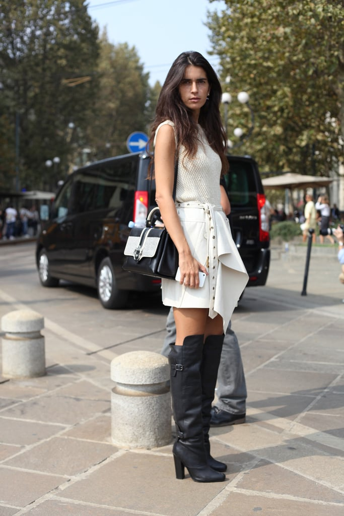 Salvage From Storage: Over-the-Knee Boots