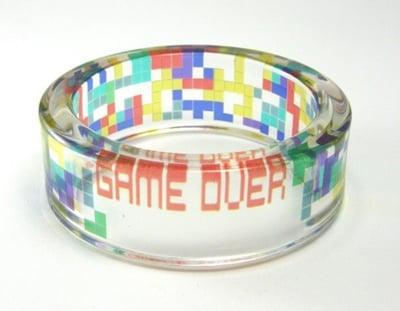 Lucite Resin Tetris Bracelet From Etsy