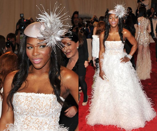 Serena Williams at the 2011 Met Gala