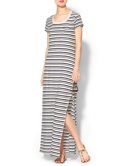 Splendid Short-Sleeved Maxi Dress