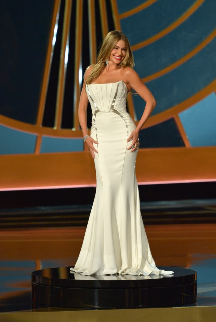 Sofia Vergara was put on display when she presented.