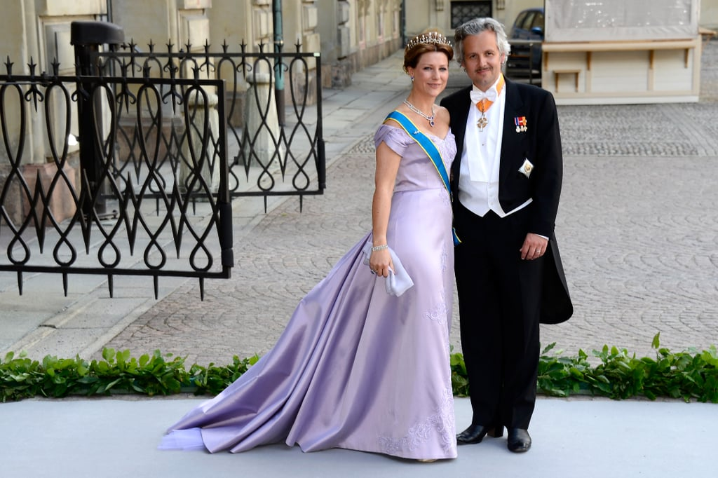 Princess Martha Louise of Norway and Ari Mikael Behn attended Princess Madeleine of Sweden and Christopher O'Neill's wedding.